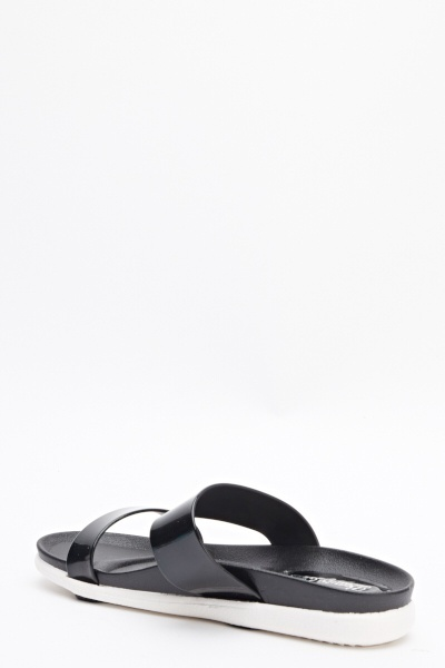 Contrast Strappy Sandals