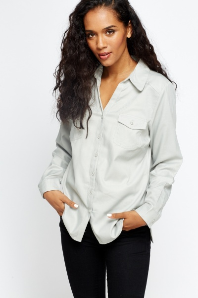 Cotton Blend Formal Shirt