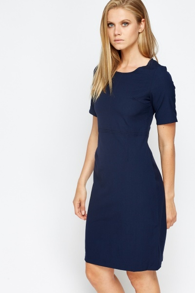 Short Sleeves Pencil Dress