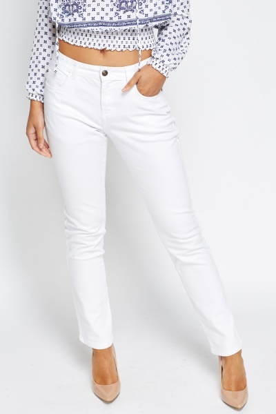 High Waisted Regular Fit Jeans