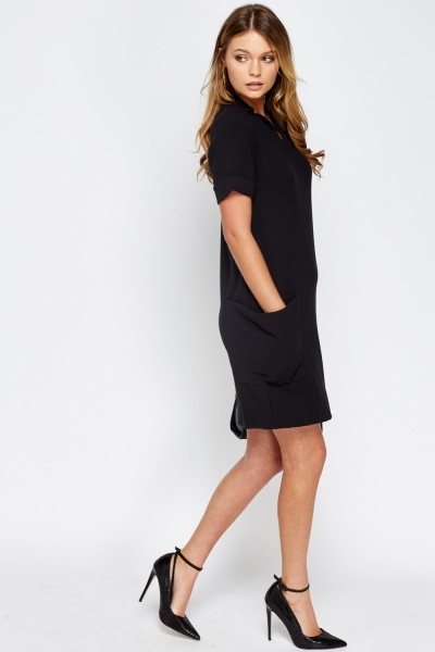 Pocket Side T-Shirt Dress