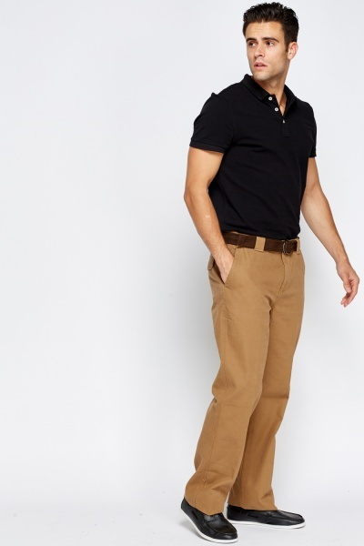 Belted Casual Trousers