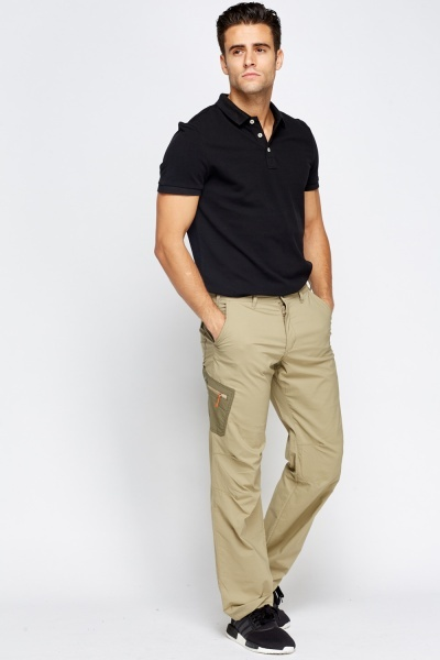 Khaki Casual Trousers