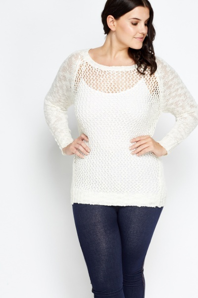 Perforated Front Jumper