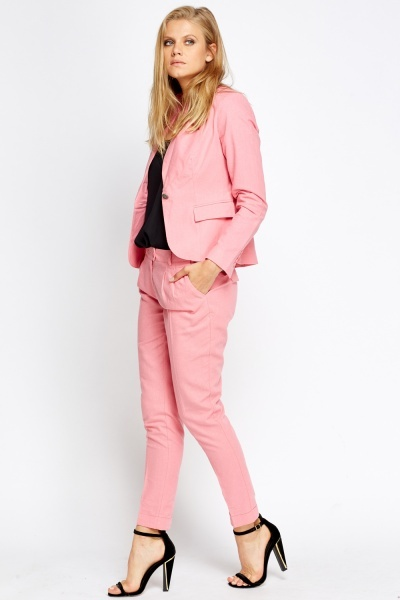 Pink Cigarette Trousers