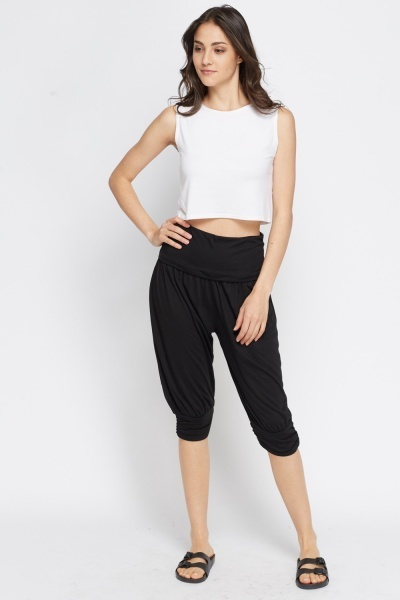 Cropped Harem Trousers