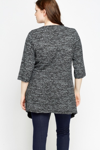 Speckled Overlay Top