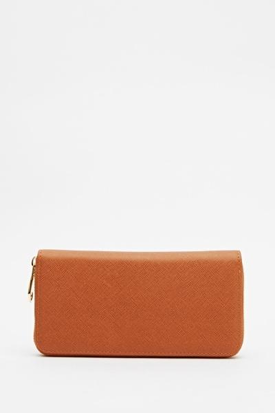 Basic Faux Leather Purse
