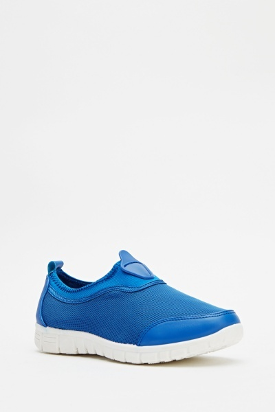 Perforated Casual Low Top Trainer