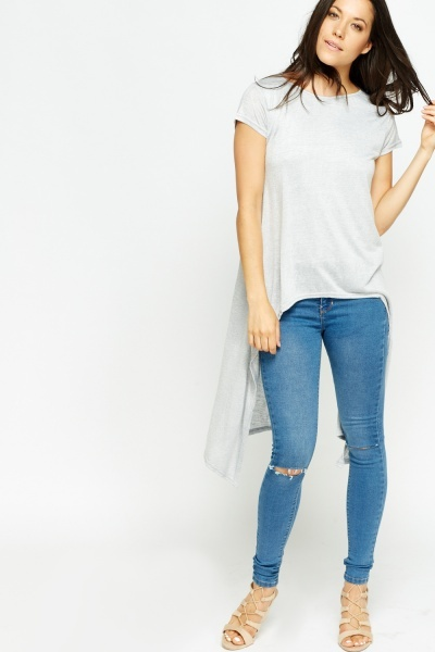 Asymmetric Overlay Side Top