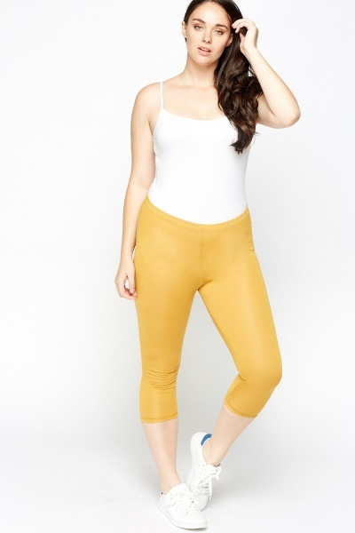 Cropped Basic Leggings