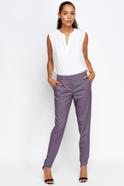 Plum Formal Trousers