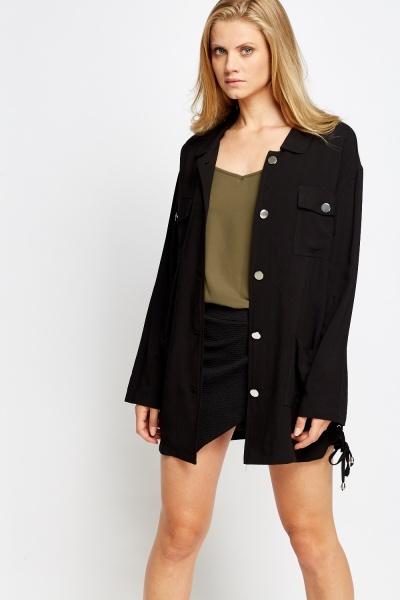 Oversize Button Up Shirt