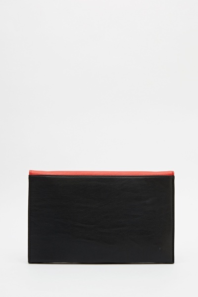 Evening Two Tone Clutch Bag