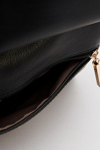 Gold Detailed Shoulder Bag