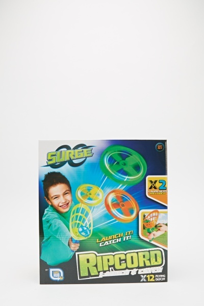 Kids Toy Ripcord Launch And Catch