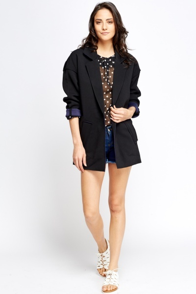 Thick Casual Blazer Jacket