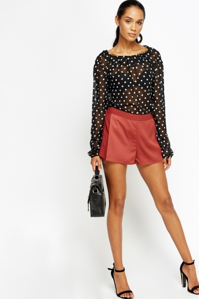 Contrast Overlay Shorts