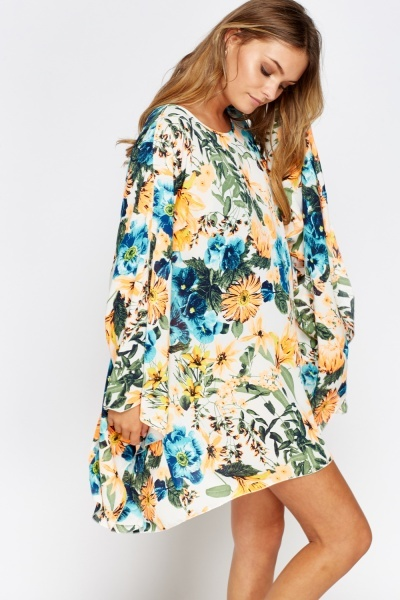Flare Oversize Cover Up Top