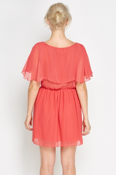 Shift Frill Dress