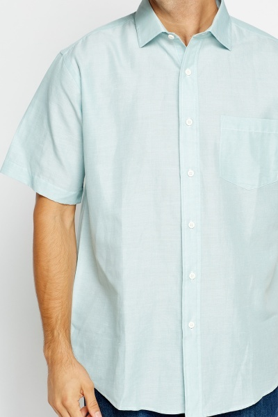 Mint Short Sleeve Shirt