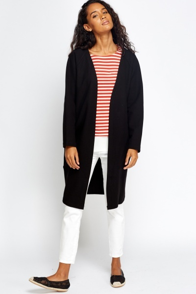 Boyfriend Long Thick Cardigan