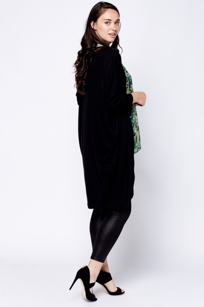 Long Line Batwing Cardigan