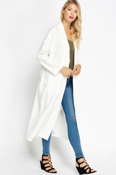 Long Line Boyfriend Coat