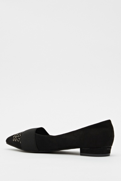 Court Studded Heel