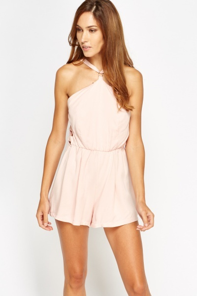 Cut Out Side Playsuit