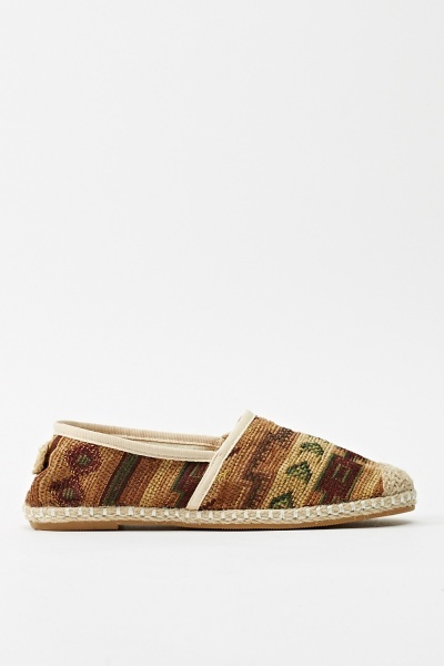 Espadrille Aztec Shoes