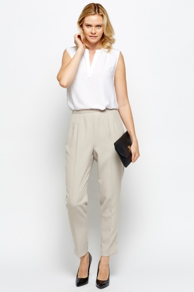 Pressed Formal Tailored Trousers