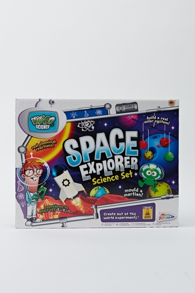 Kids Creativity Space Explorer Sceience Set