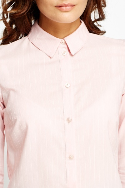 Pinstripe Light Pink Shirt
