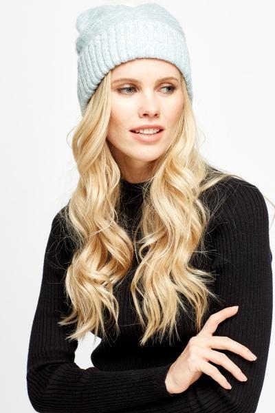 Image of Eyelash Faux Fur Pom Hat