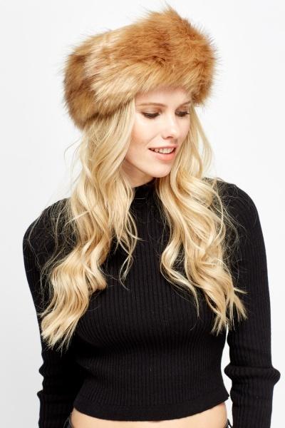 Faux Fur Speckled Headband