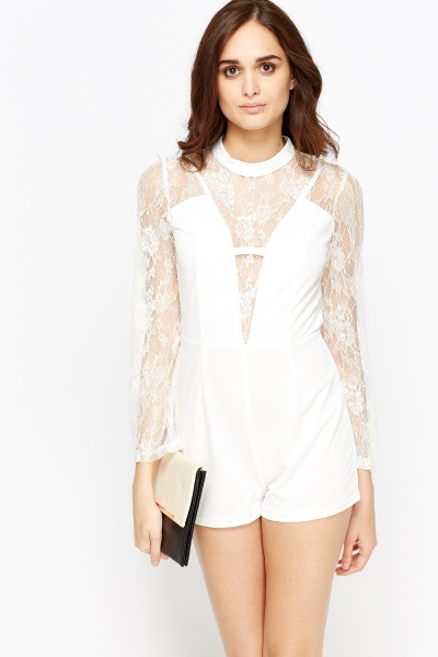 93bf682072 Find every shop in the world selling bardot playsuit white at ...