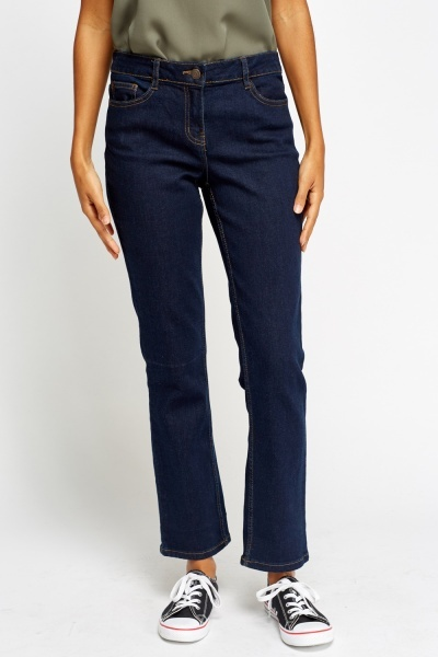 Dark Blue Flare Jeans - Just £5