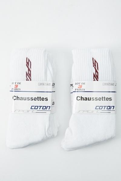 Pack Of 3 Stripe Sport Sock