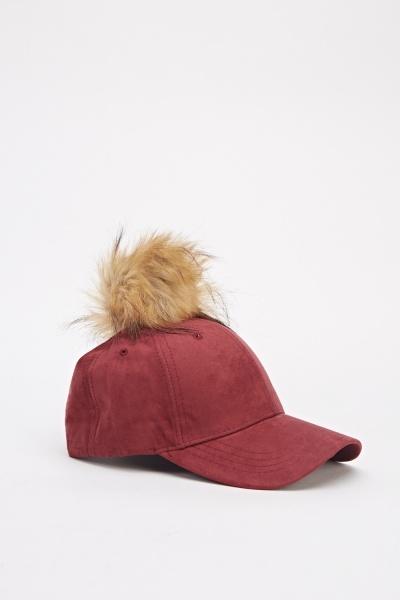 Image of Suedette Pom Cap