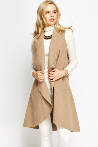 Waterfall Long Gilet