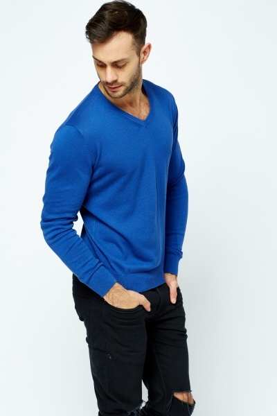 V-Neck Casual Sweater