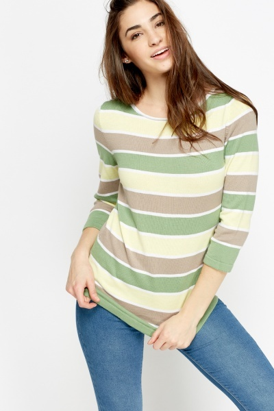 Multi Striped Jumper