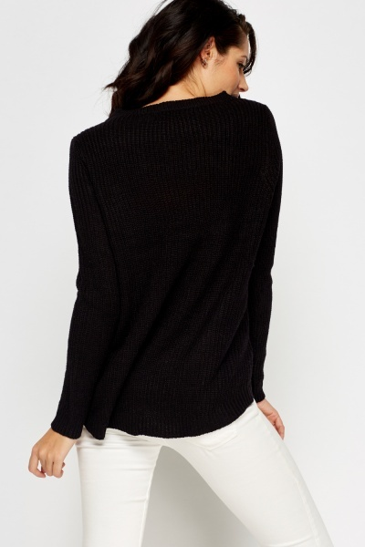 Basic Knitted Sweater