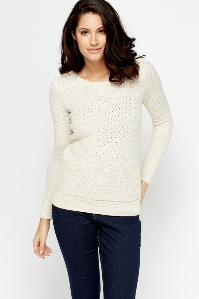 Cable Knit Casual Pullover