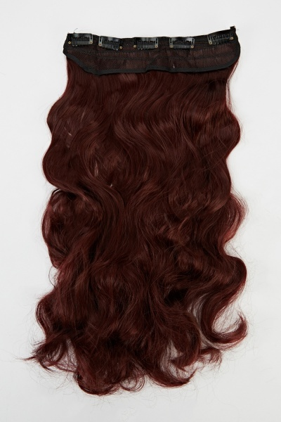 Image of Curled Weft Hair Extension