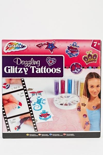 Image of Dazzling Glitzy Tattoos
