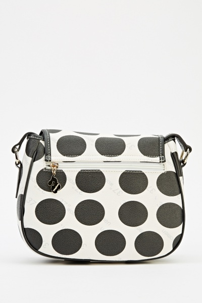 Polka Dot Cross Body Bag
