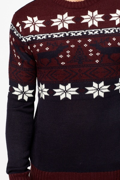 Snow Flake Christmas Jumper