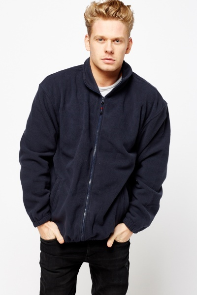 Fleeced Zipped Jacket